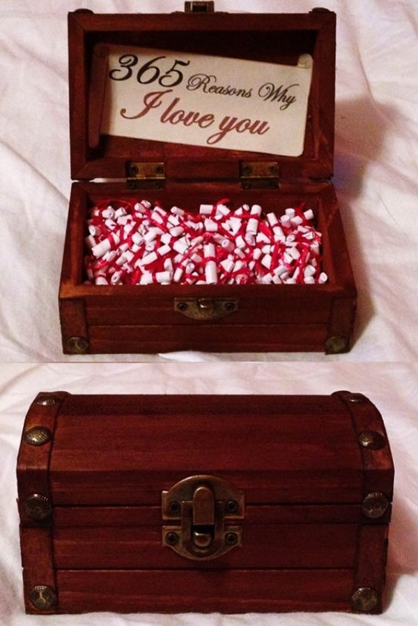 Diy Valentine Gift Ideas For Him  35 Homemade Valentine s Day Gift Ideas for Him
