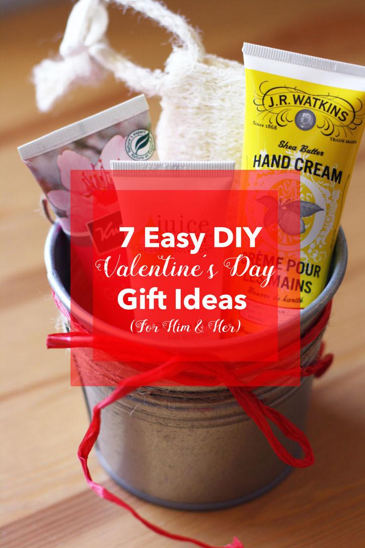 Diy Valentine Gift Ideas For Him  7 Easy DIY Valentine's Day Gift Ideas For Him & Her