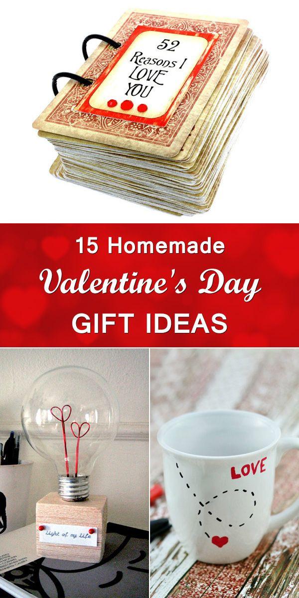 Diy Valentine Gift Ideas For Him  Best 25 Diy valentine s ts ideas on Pinterest