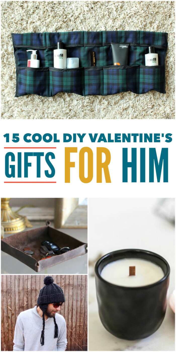 Diy Valentine Gift Ideas For Him  15 Cool DIY Valentine s Day Gifts for Him