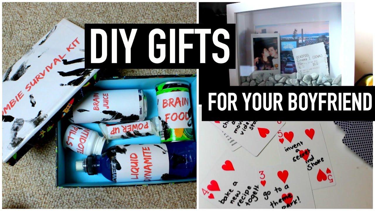 DIY Valentine'S Day Gifts For Boyfriend  DIY Gifts for your boyfriend partner husband etc Last