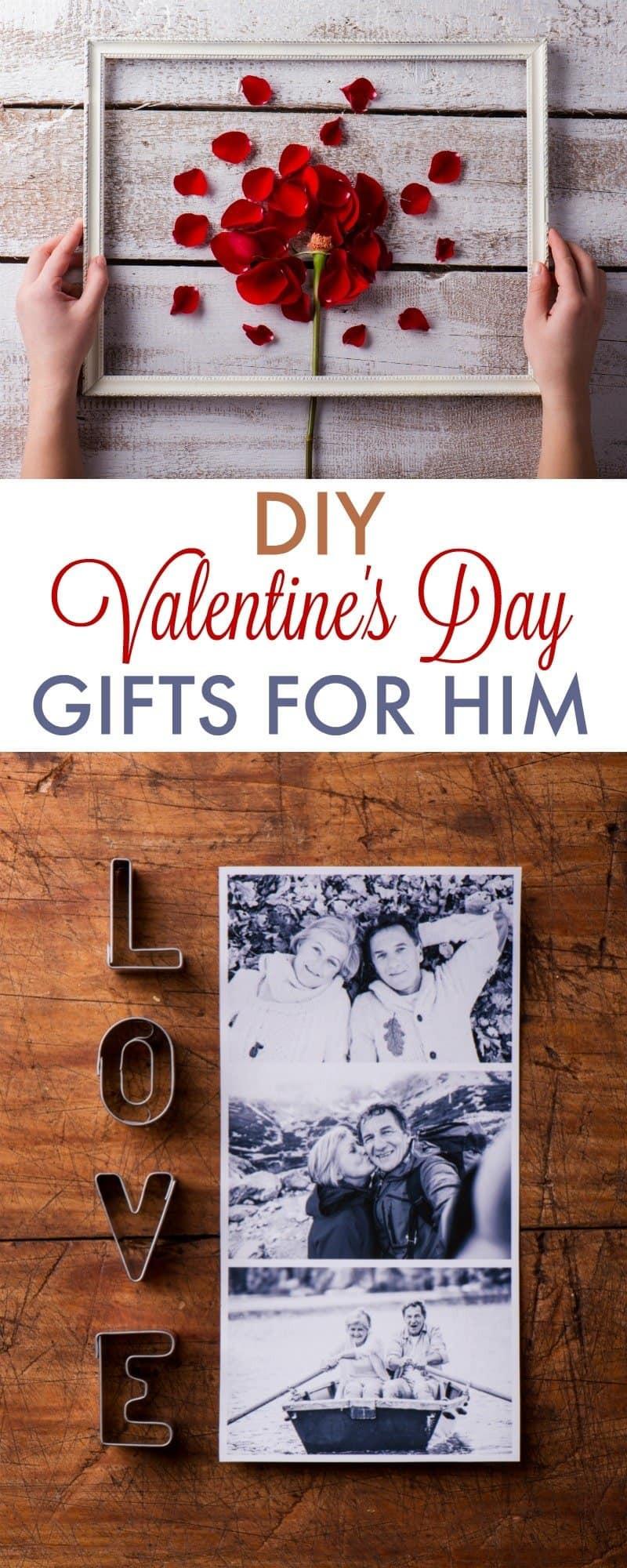 DIY Valentine'S Day Gifts For Boyfriend  DIY Valentine s Day Gifts for Boyfriend 730 Sage Street
