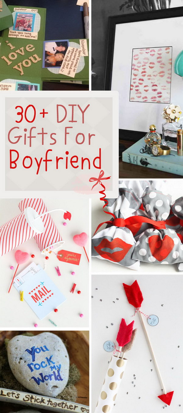 DIY Valentine'S Day Gifts For Boyfriend  30 DIY Gifts For Boyfriend 2017