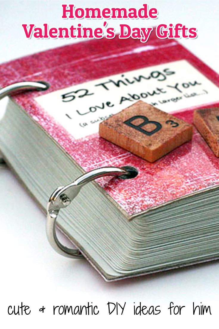 DIY Valentine'S Day Gifts For Boyfriend  26 Handmade Gift Ideas For Him DIY Gifts He Will Love