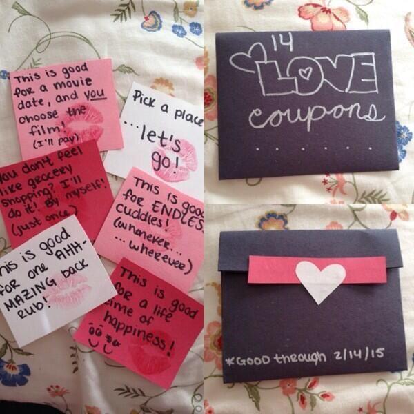 DIY Valentine'S Day Gifts For Boyfriend  Part of the diy valentine t I made for my boyfriend