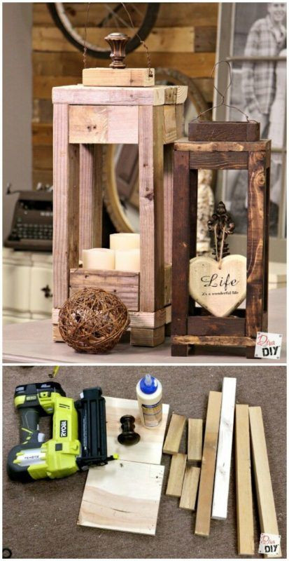 DIY Wood Art Projects  20 Impossibly Creative DIY Outdoor Christmas Decorations