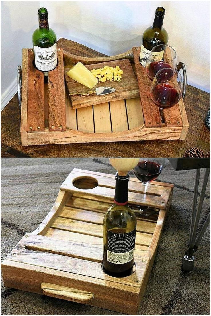DIY Wood Art Projects  25 unique Pallet tray ideas on Pinterest