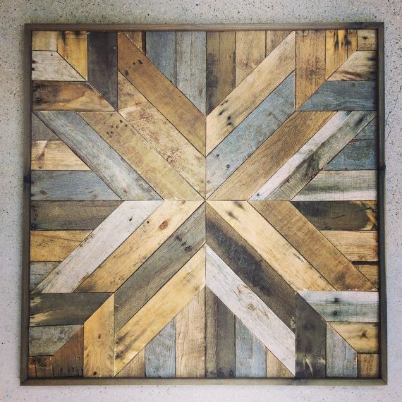 DIY Wood Art Projects  19 Smart and Beautiful DIY Reclaimed Wood Projects To Feed