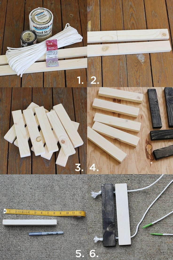 DIY Wood Art Projects  DIY Wooden Trivet Set Crafty Goodness