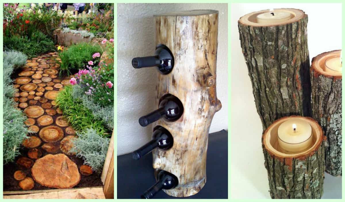 DIY Wood Art Projects  40 Gorgeous DIY Wood Home And Garden Decorations