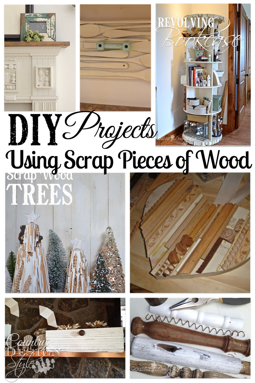 DIY Wood Art Projects  Scrap wood projects