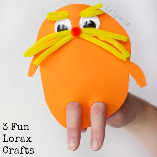 Dr Seuss Craft Ideas For Preschoolers  3 Hilarious Dr Seuss Lorax Craft Ideas for Kids