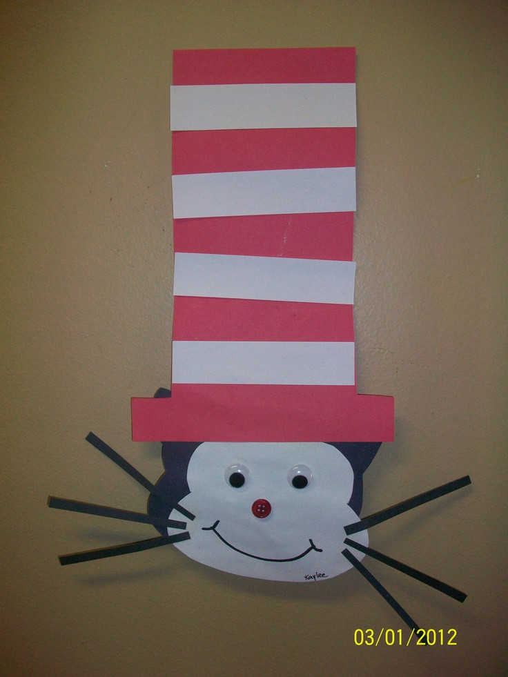 Dr Seuss Craft Ideas For Preschoolers  96 best images about Dr Seuss Theme crafts snacks on