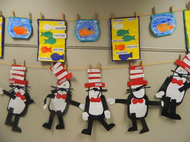 Dr Seuss Craft Ideas For Preschoolers  Dr Seuss preschool projects preschool