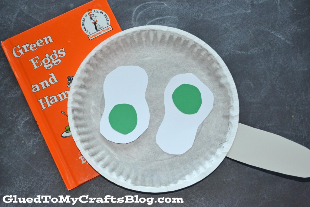 Dr Seuss Craft Ideas For Preschoolers  Paper Plate Dr Seuss Green Eggs Kid Craft Glued To My