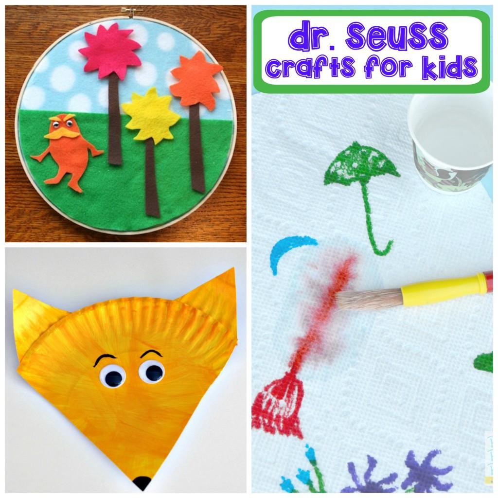 Dr Seuss Craft Ideas For Preschoolers  Dr Seuss Activities for Kids