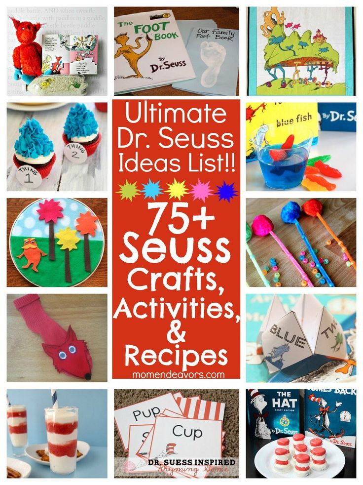 Dr Seuss Craft Ideas For Preschoolers  Preschool Learning And Crafts Fun And Easy Activities For