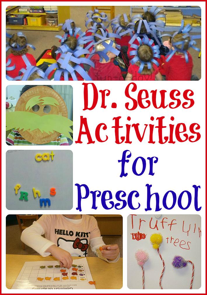 Dr Seuss Craft Ideas For Preschoolers  15 Dr Seuss Activities for Preschool