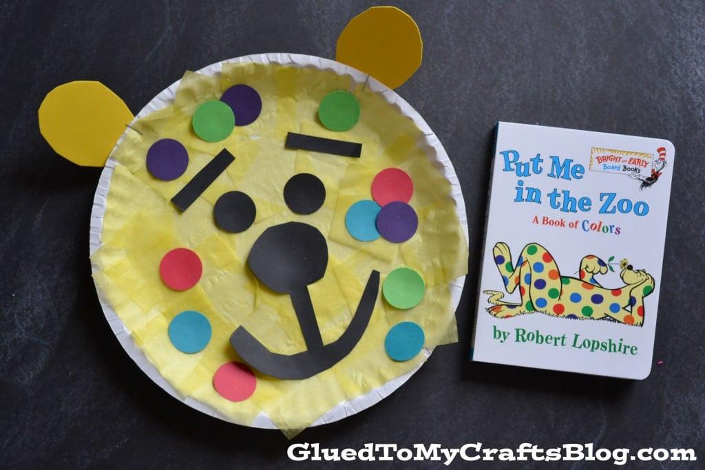 Dr Seuss Craft Ideas For Preschoolers  Dr Seuss Inspired Leopard Kid Craft