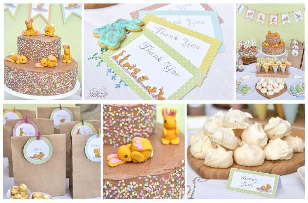 Easter Birthday Party Ideas For Boys  Kara s Party Ideas Tumbling Bunnies Spring Easter Birthday