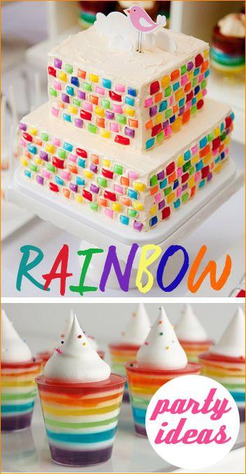 Easter Birthday Party Ideas For Boys  Rainbow Party Ideas Great ideas for a boy or girl