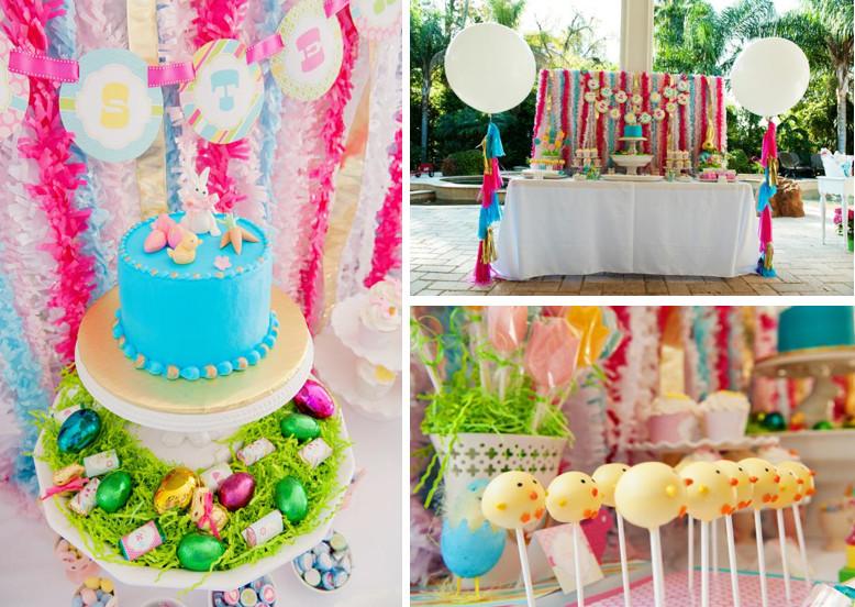 Easter Birthday Party Ideas For Boys  Kara s Party Ideas Classic Pastel Boy Girl Easter Bunny