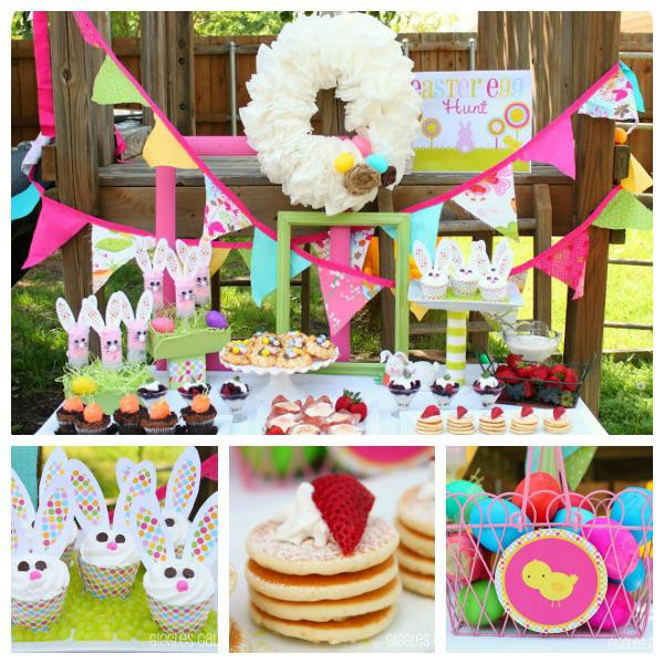 Easter Birthday Party Ideas For Boys  Kara s Party Ideas Easter Egg Hunt Bunny Rabbit Girl Boy