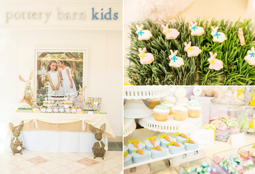 Easter Birthday Party Ideas For Boys  Kara s Party Ideas Pottery Barn Peter Rabbit Easter Spring