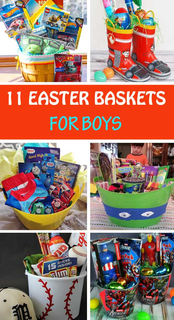 Easter Birthday Party Ideas For Boys  11 Homemade Easter basket ideas for boys