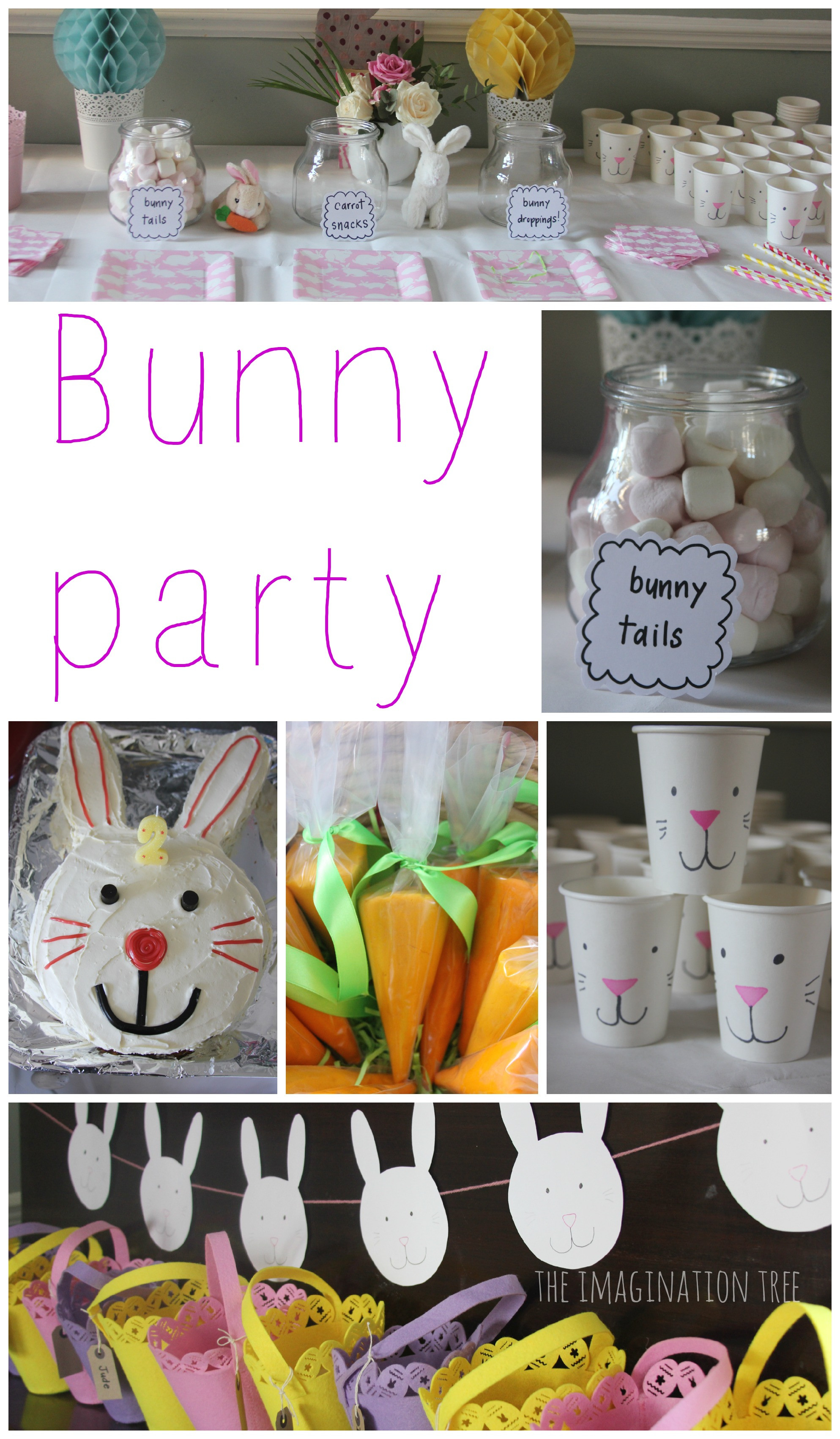 Easter Birthday Party Ideas For Boys  Bunny Birthday Party The Imagination Tree