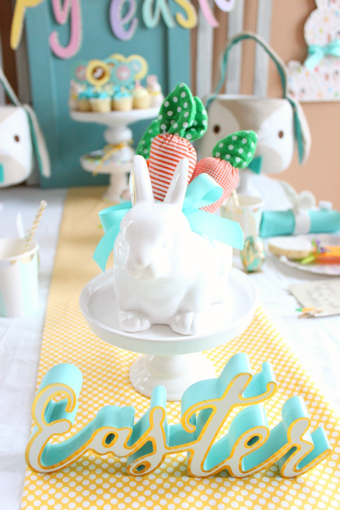 Easter Birthday Party Ideas For Boys  Kara s Party Ideas Hoppy Easter Party for Kids