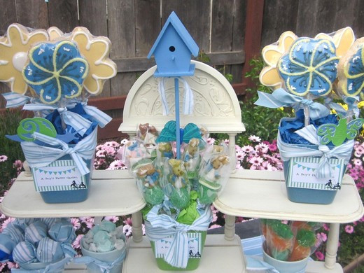 Easter Birthday Party Ideas For Boys  Boy s Easter Garden Easter Party Ideas
