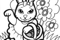 Easter Bunny Coloring Pages Free Printable Lovely Free Printable Easter Bunny Coloring Pages for Kids