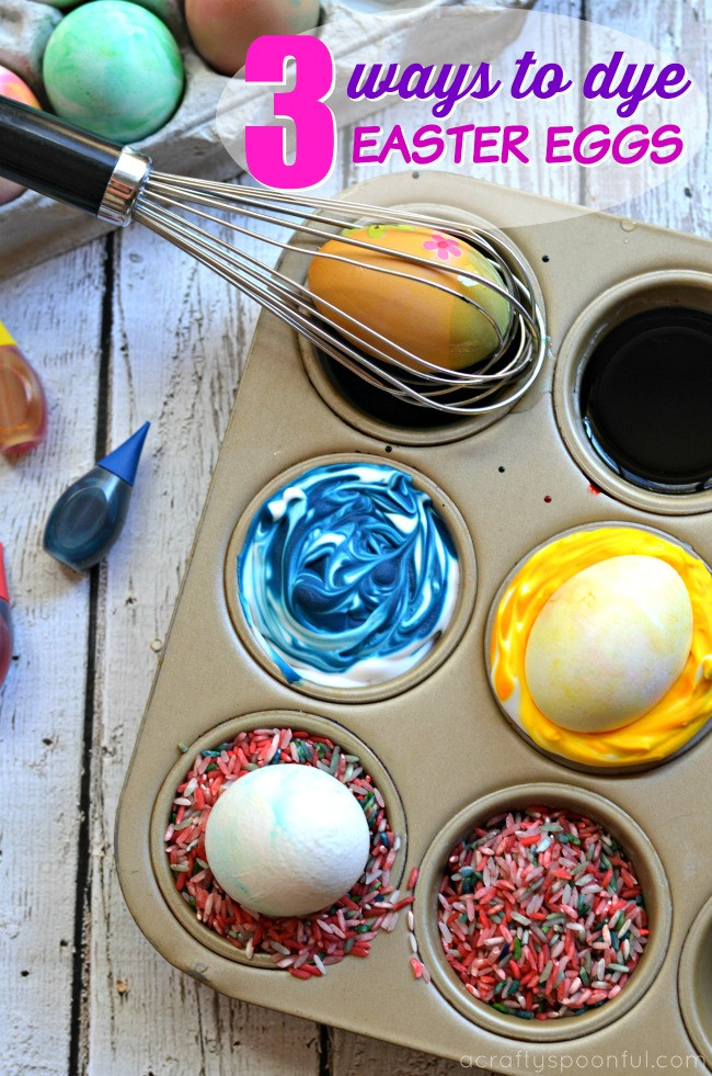 Easter Egg Dying Party Ideas  3 Ways to Dye Easter Eggs with Toddlers and Preschoolers