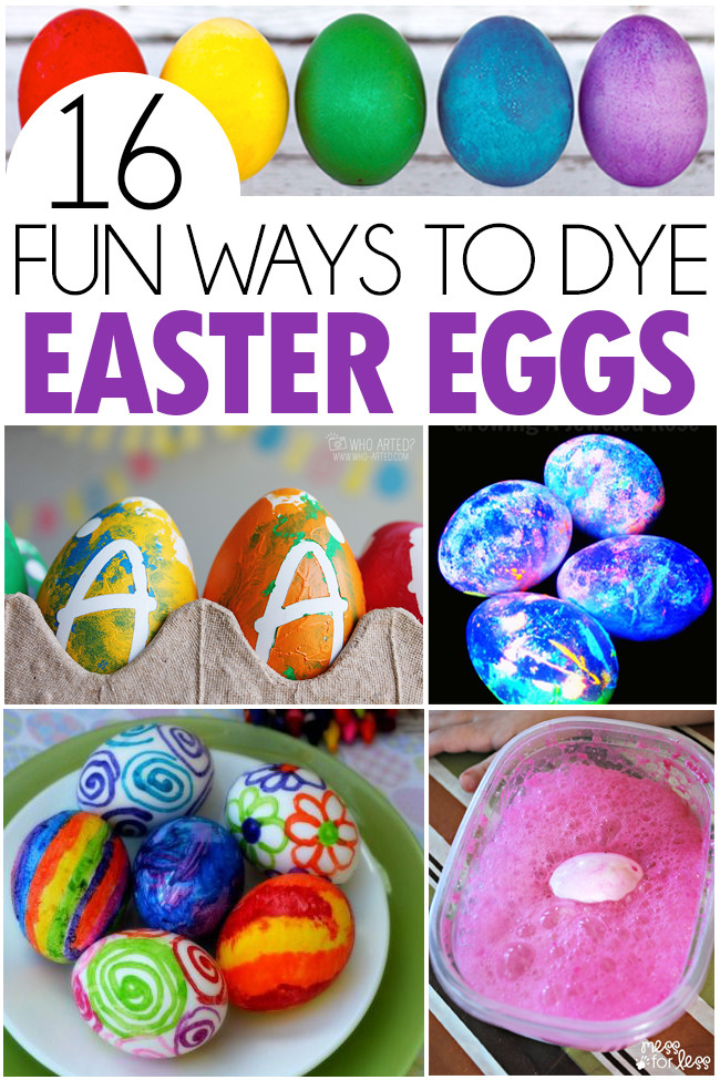 Easter Egg Dying Party Ideas  16 Fun Ways To Dye Easter Eggs I Heart Arts n Crafts