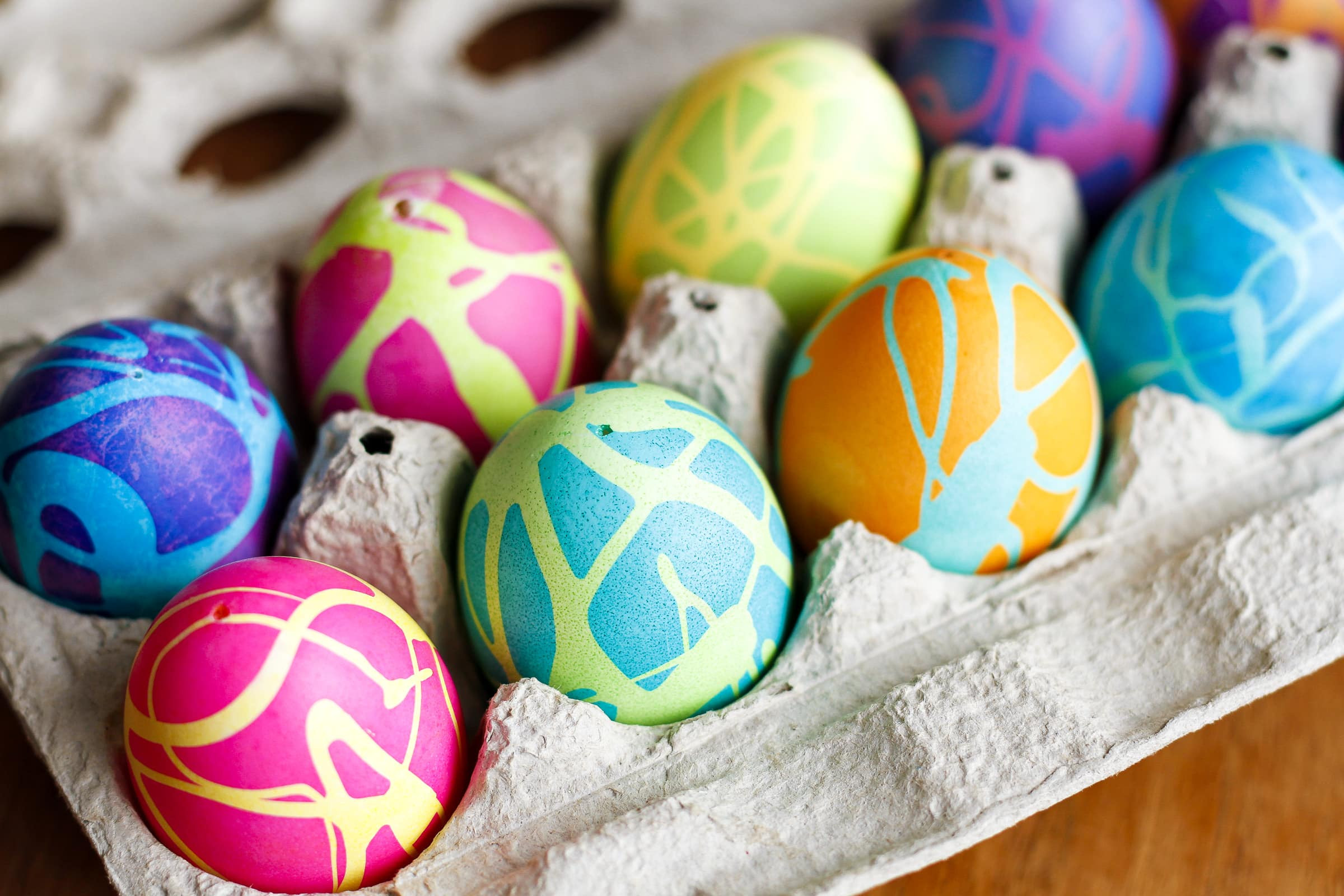 Easter Egg Dying Party Ideas  9 Bright and Beautiful Easter Egg Ideas