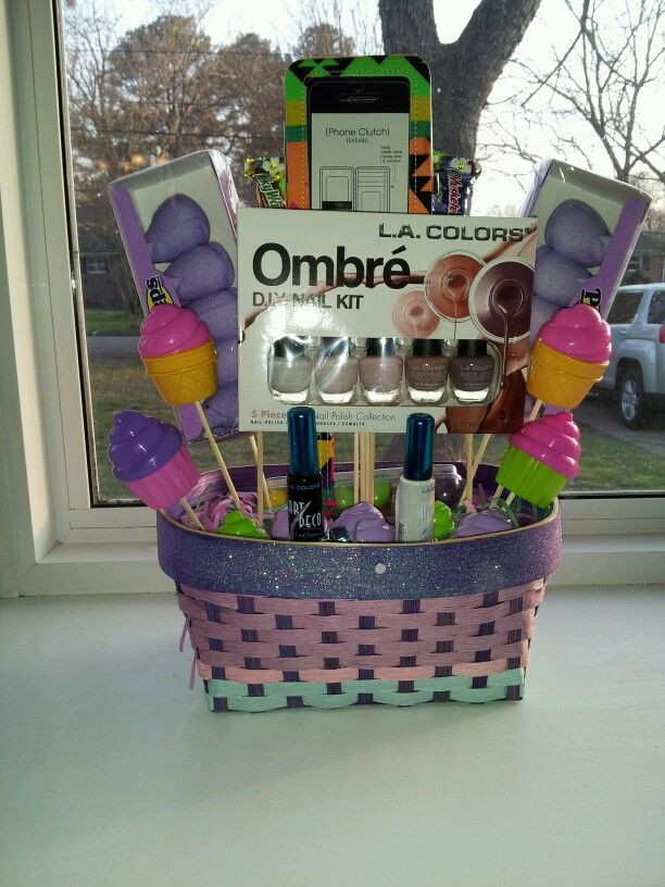 Easter Gift Ideas For Girlfriend  Custom made Easter basket for a teenager