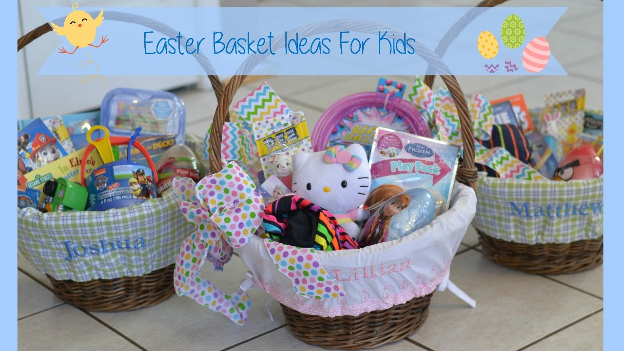 Easter Gift Ideas For Girlfriend  Easter Basket Ideas For Kids