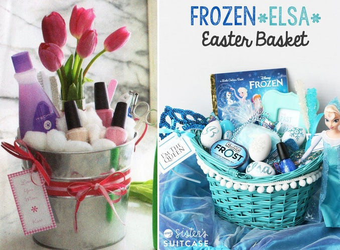 Easter Gift Ideas For Girlfriend  5 Super Cute Easter Baskets You Can Make For Your Friends