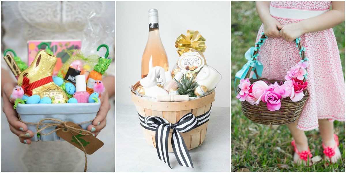 Easter Gift Ideas For Girlfriend  21 Cute Homemade Easter Basket Ideas Easter Gifts for