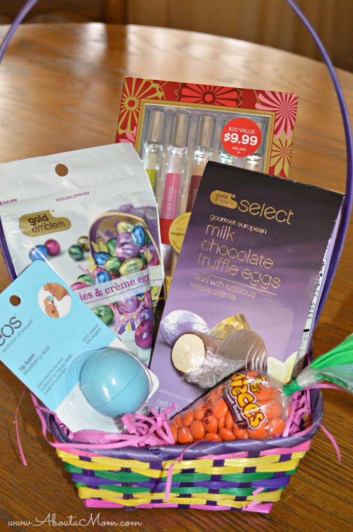Easter Gift Ideas For Girlfriend  DIY Easter Basket Goo s from CVS Giveaway About A Mom