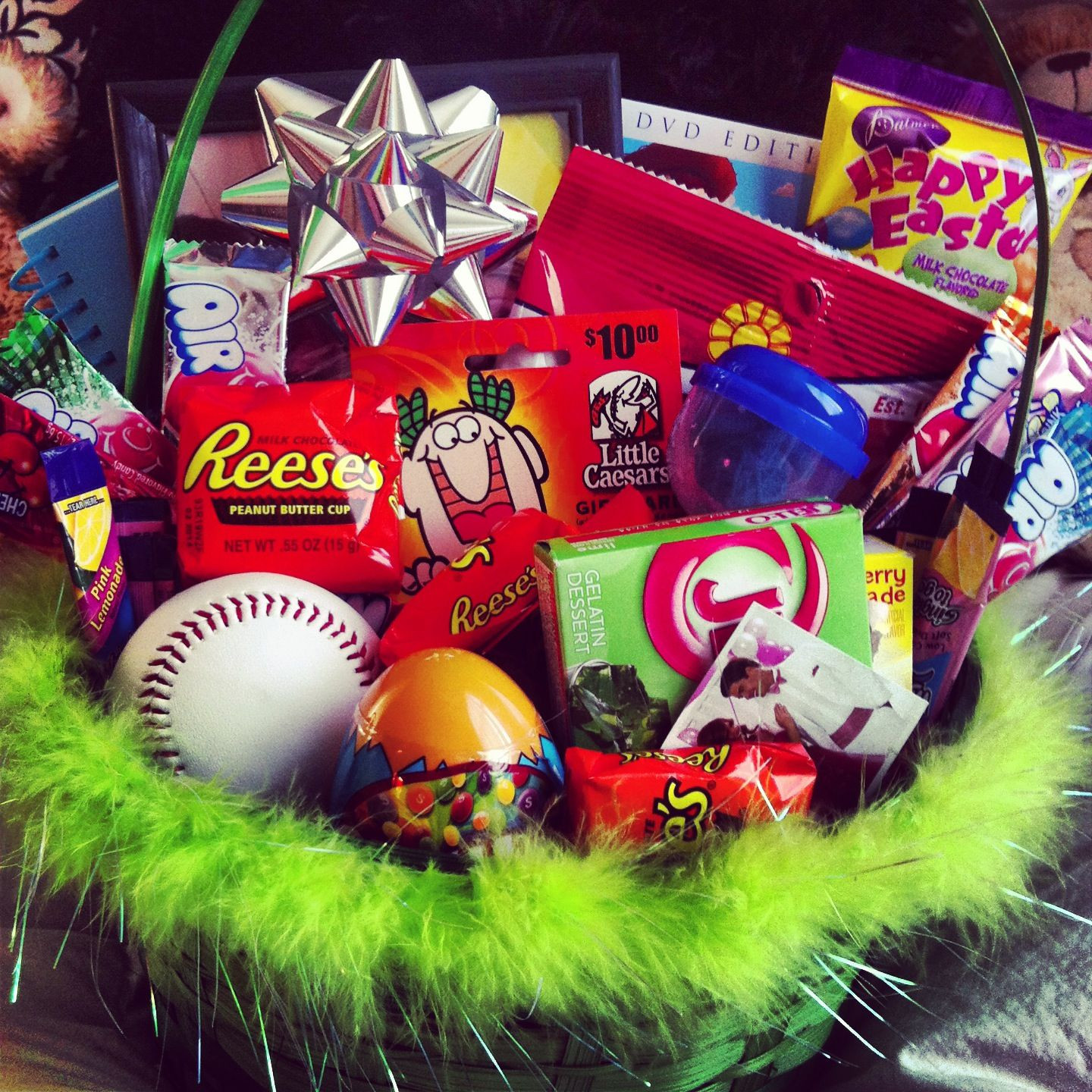 Easter Gift Ideas For Girlfriend  my boy s easter basket I m the best girlfriend ever