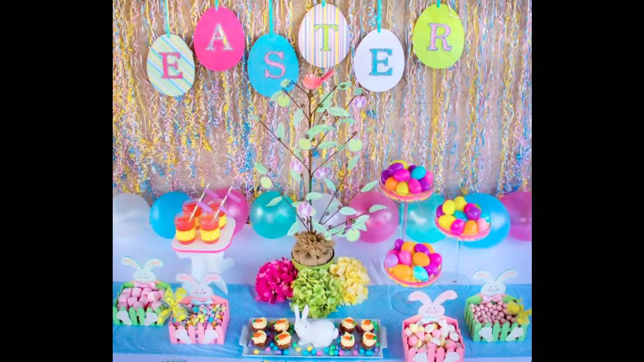 Easter Kid Party Ideas  at home Easter Party ideas for kids