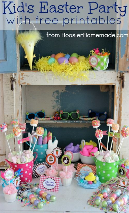 Easter Kid Party Ideas  1000 images about Easter Fun Ideas & Traditions on