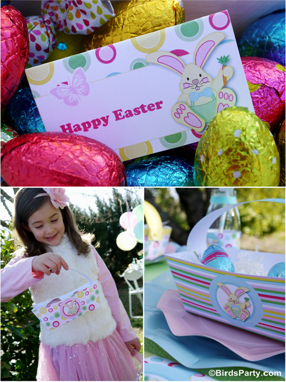 Easter Kid Party Ideas  Kid s Easter Egg Hunt Party and Printables Party Ideas