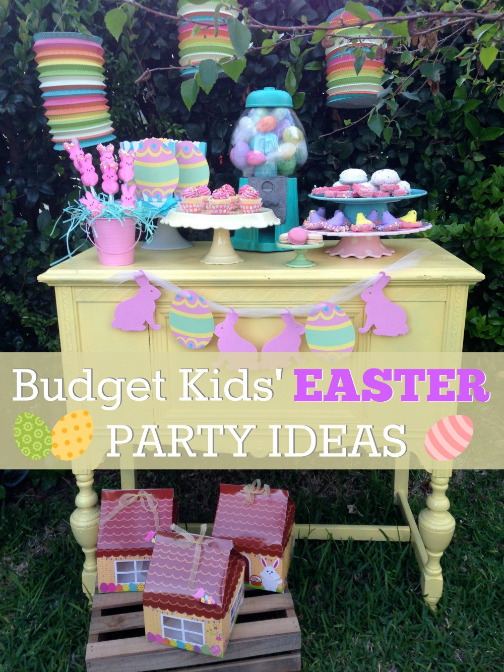Easter Kid Party Ideas  Bud Friendly Kids Easter Dessert Table Ideas