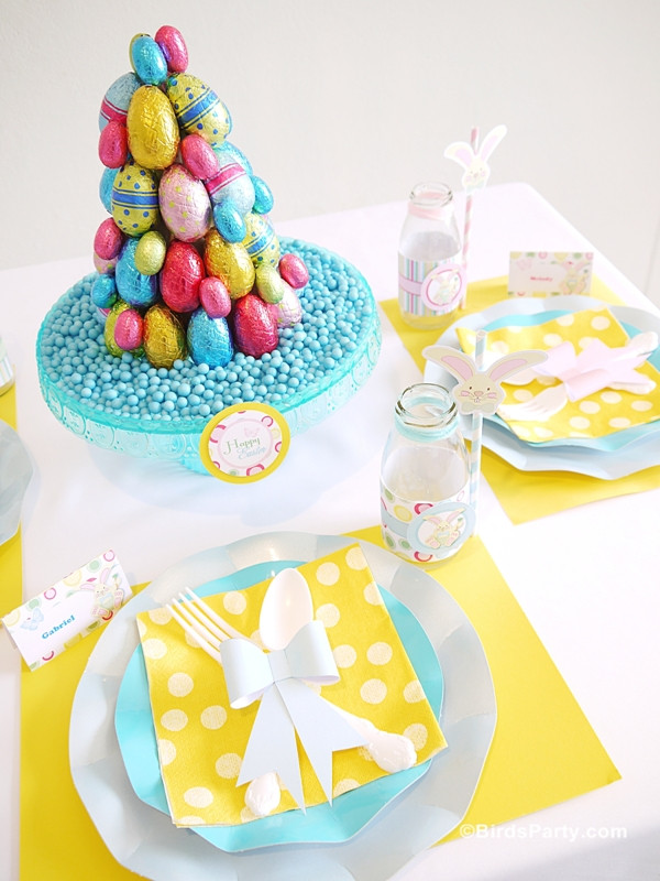 Easter Kid Party Ideas  Easter Kids Brunch & DIY Party Ideas Party Ideas