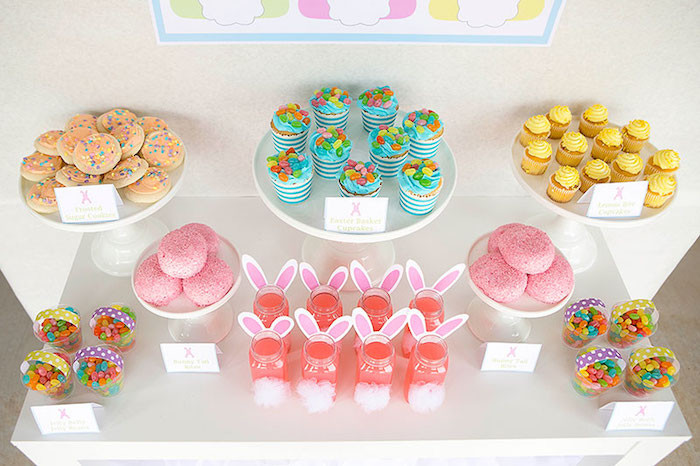 Easter Kid Party Ideas  Kara s Party Ideas Easter Party for Kids with FREE