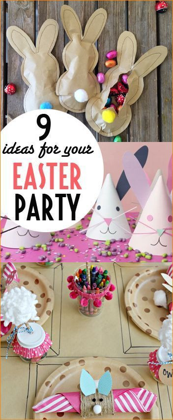 Easter Kid Party Ideas  Best 25 Easter party ideas on Pinterest