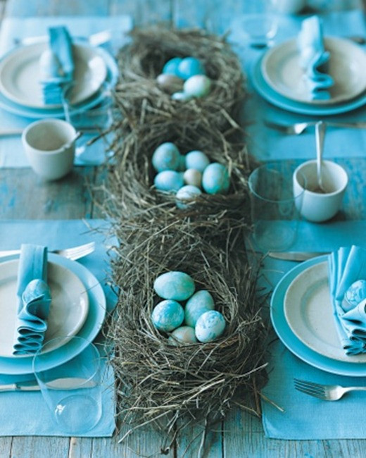 Easter Party Ideas Martha Stewart  Easter Entertaining in Blue